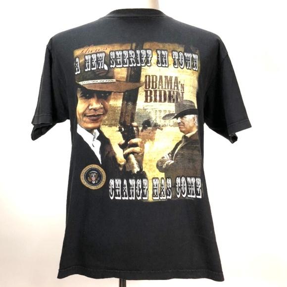46f1aeea683d92 Alstyle Other - Obama   Biden Bootleg Rap Tee   T-Shirt Large